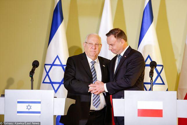 Prezydenci Polski i Izraela wraz z tysiącami młodych Żydów i Polaków biorą udział w  Marszu Żywych