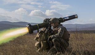 Javelin to przeciwpancerny pocisk kierowany, skuteczny przeciwko wszystkim znanym rodzajom pancerzy