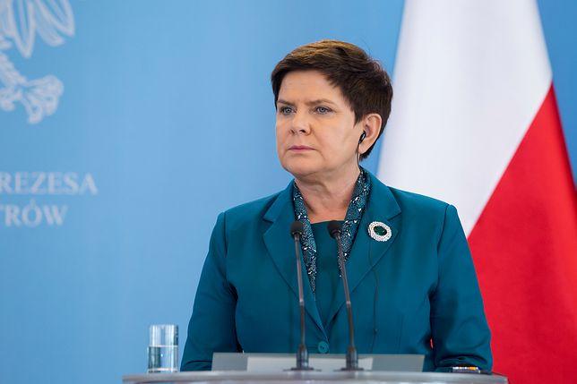 Wpis premier Beata Szydło został podany dalej przez oficjalny profil Kancelarii Premiera