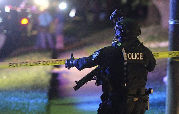 Po strzelaninie w Filadelfii - na zdjęciu funkcjonariusz SWAT