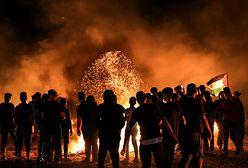 Protesty w Strefie Gazy. W ruch poszły ładunki wybuchowe i ostra amunicja