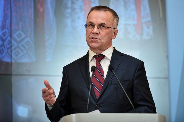 """Wiceminister kultury o wykładzie Tuska. """"Agitacyjne, prostackie przemówienie"""""""