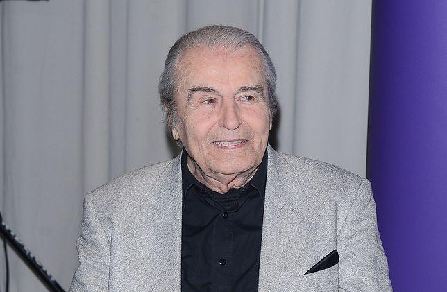 Tadeusz Pluciński tuż przed 90. urodzinami doznał poważnego urazu