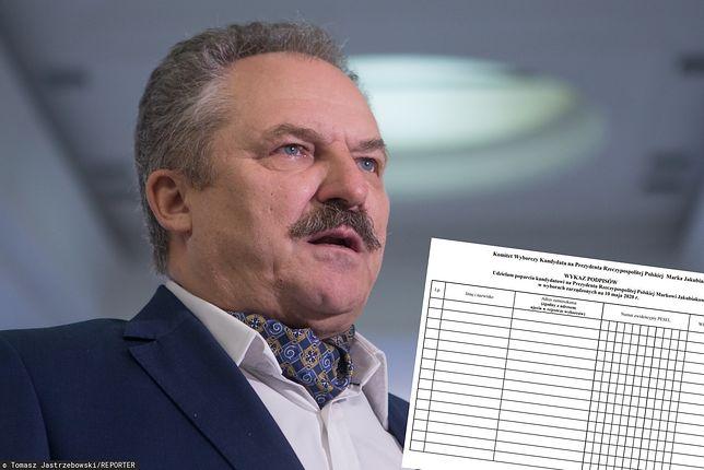 Marek Jakubiak twierdzi, że nic inicjatywie PiS nie wiedział