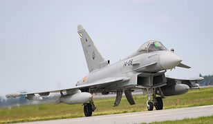 Wpadka pilota Eurofightera
