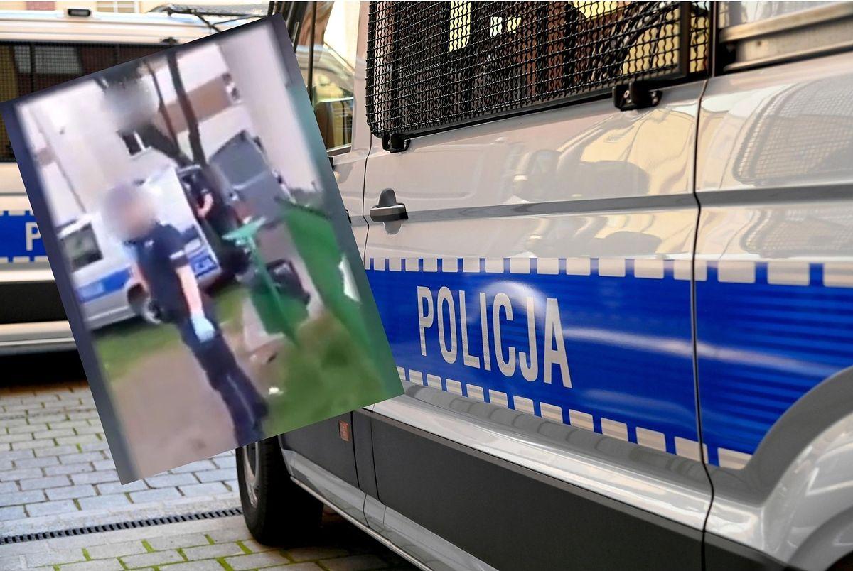 Nagranie z interwencji policji trafiło do sieci