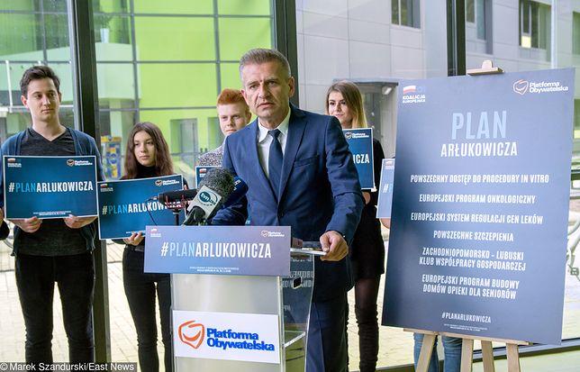 Bartosz Arłukowicz, autor jednej z najlepszych kampanii przed wyborami do PE
