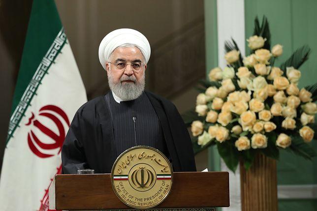 Prezydent Iranu Hassan Rowhani zapowiada ukaranie wszystkich odpowiedzialnych za zestrzelenie ukraińskiego boeinga
