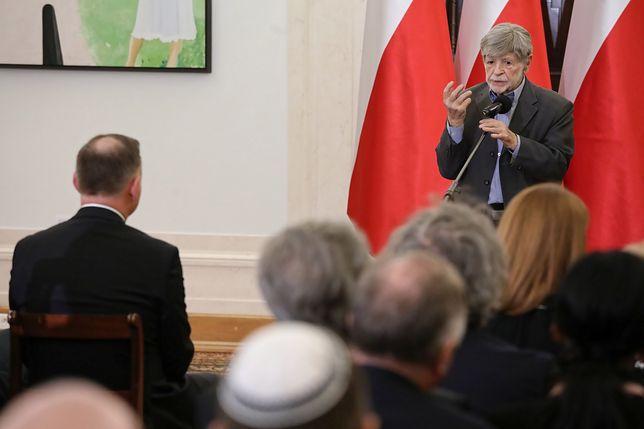 Szewach Weiss skrytykował organizatora Światowego Forum Holokaustu