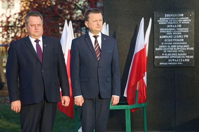 Jarosław Zieliński i Mariusz Błaszczak