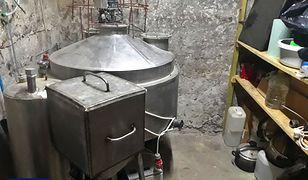 CBŚP zlikwidowało laboratorium amfetaminy pod Płockiem