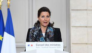 Minister zdrowia Francji Agnes Buzyn: mamy dwa przypadki zakażenia koronawirusem z Chin
