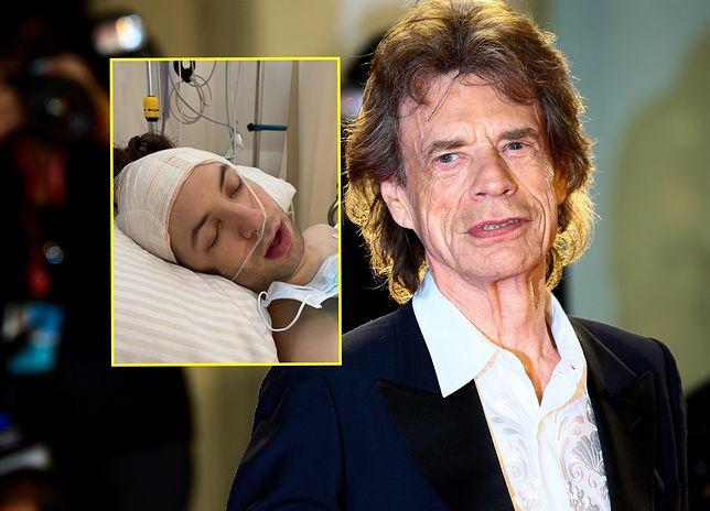 Syn Micka Jaggera - Lucas - przeszedł operację