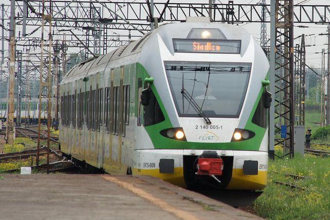 Niektóre pociągi kursują okrężnymi trasami