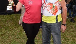 Dariusz Szpakowski z córką Gabrysią