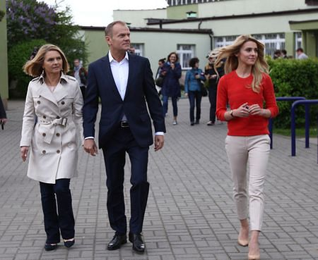 Donald Tusk, Katarzyna Tusk, Małgorzata Tusk