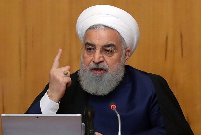 Prezydent Iranu Hassan Rouhani zagroził wycofaniem się z porozumienia nuklearnego