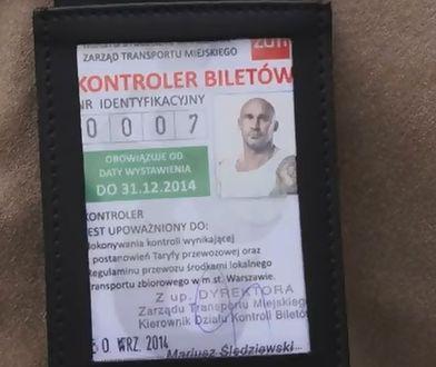 Przemek Saleta kontrolerem biletów [WIDEO]