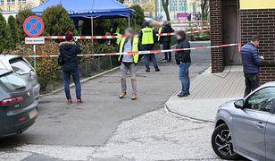 Konin. Miejsce śmiertelnego postrzelenia 21-latka przed policjanta