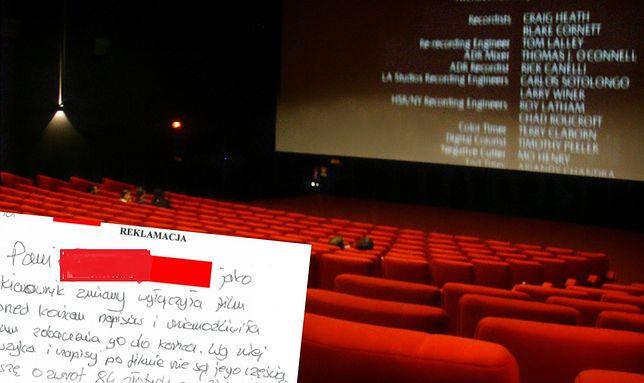 Pracownicy kina przerwali seans, żeby móc wcześniej posprzątać salę? Widz chce zwrotu pieniędzy