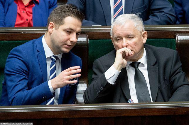 Patryk Jaki i Jarosław Kaczyński