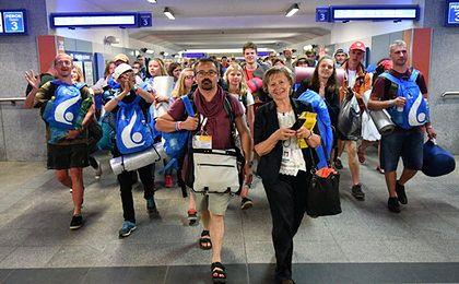 ŚDM zawiodły krakowskich restauratorów, bo pielgrzymi przyjechali po strawę duchową