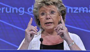 Reding chce 40 proc. miejsc dla kobiet w radach nadzorczych