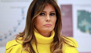 Melania Trump kolejny raz odtrąca rękę swojego męża