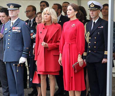 Brigitte Macron i księżna Mary