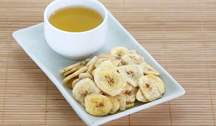 Bananowa herbatka na lepszy sen