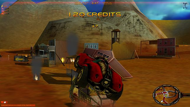 Carmageddon to wyjątkowo krwawa gra wyścigowa, w której gracz może rozjeżdżać przechodniów.