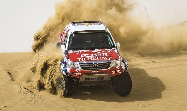 Małysz na Abu Dhabi Desert Challenge 2014