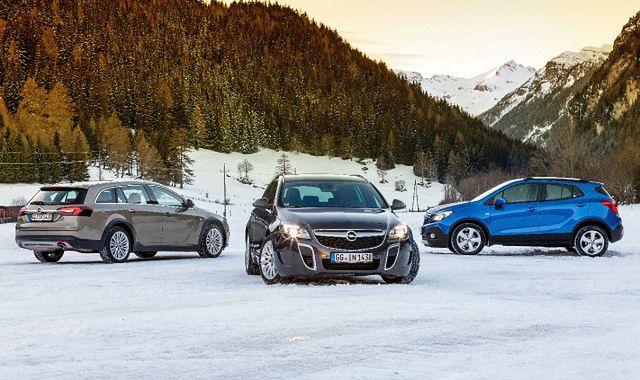 Opel 4x4: inteligentne układy napędu