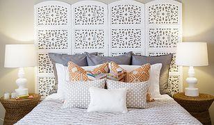 Dodatkowa ścianka lub efektowe wezgłowie łóżka - elegancki parawan sprawdzi się w wielu wnętrzach