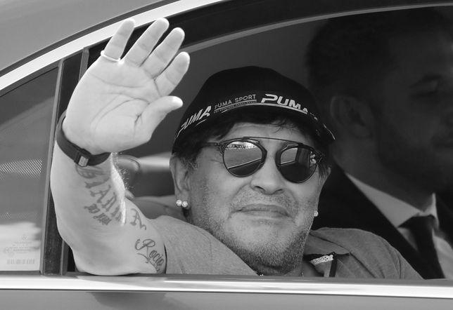 Diego Maradona nie żyje.
