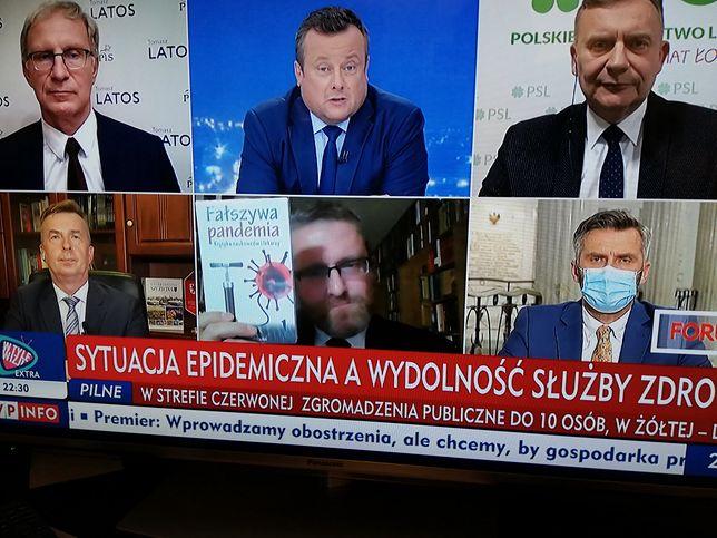 TVP Info. Grzegorz Braun wywołał zamieszanie