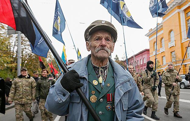 """""""Bandera naszym bohaterem"""" - ulicami Kijowa przeszedł Marsz Chwały poświęcony UPA"""