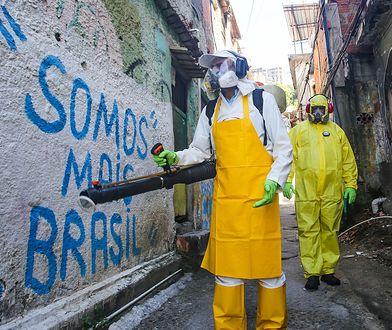 Koronawirus w Brazylii. Ponad 50 tys. nowych przypadków przez ostatnią dobę