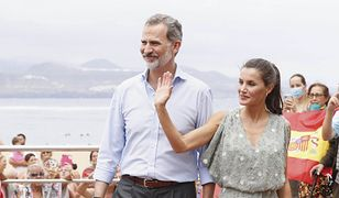 Hiszpańska para królewska odwiedziła Wyspy Kanaryjskie. Królowa Letizia zadała szyku