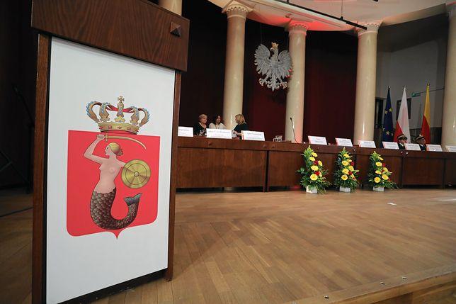 Sala Warszawska w Pałacu Kultury i Nauki, gdzie obraduje Rada m.st. Warszawy