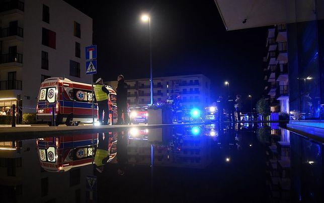 Nocny alarm bombowy na Żoliborzu. Ewakuowano dwa bloki