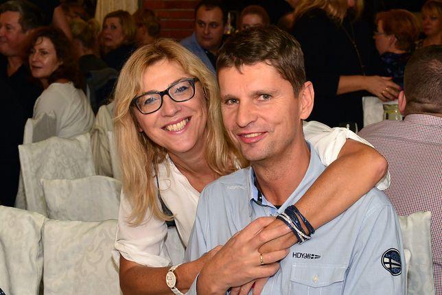 Agnieszka Rzeszewska z mężem - ministrem Dariuszem Piontkowskim