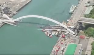 Most zawalił się: co najmniej 10 osób jest rannych