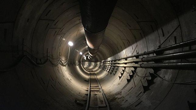 The Boring Company niebawem zakończy budowę tunelu