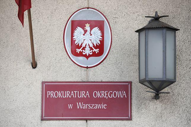 Warszawa. Do Prokuratury Okręgowej w Warszawie złożono zawiadomienie o podejrzeniu popełnienia przestępstwa