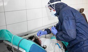 Koronawirus. Trudna sytuacja w szpitalu w Myślenicach (zdjęcie poglądowe)