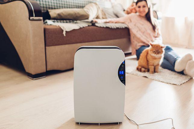 Zwróć uwagę na jakość i wilgotność powietrza w domu