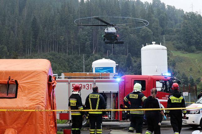 Akcja TOPR w Tatrach. Piorun poraził turystów na Giewoncie