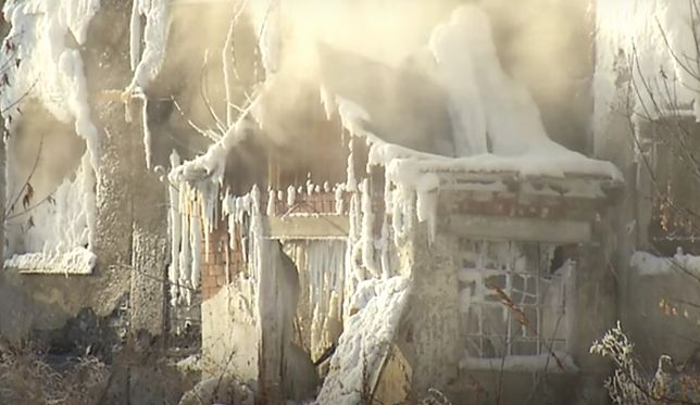 Rosyjskie media porównują budynek do zamku Królowej Śniegu