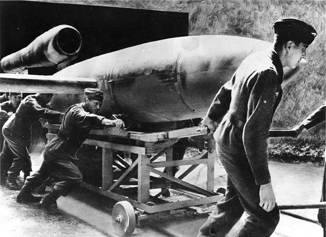 V-1 przed startem, rok 1944